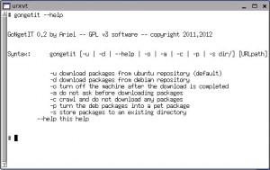 GoNgetIT – Ubuntu&Debian csomag letöltő