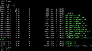 Minimal Linux fejlesztés !