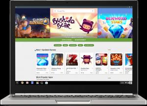 Hivatalos! Google Play áruház és milliónyi alkalmazás ChromeOS -re