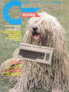 Magazinok és könyvek a számítástechnika hőskorából
