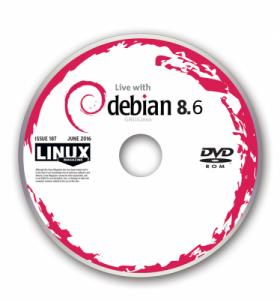 Debian 8.6 minimál telepítés