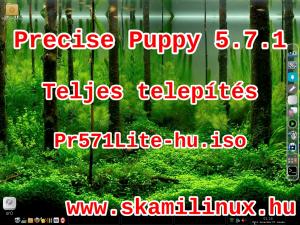 Precise puppy 5.7.1 telepítés – videó