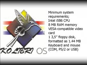 KolibriOS frissítések – i915 és ATI driverek