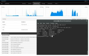 Cockpit – web alapú szerver adminisztrációs felület