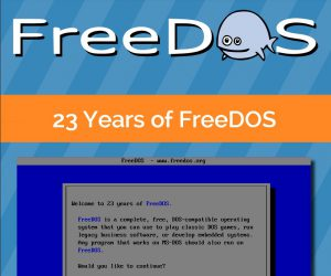 A FreeDos 23 éve | e-könyv