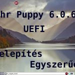 Tahr Puppy 6.0.6 telepítés videó