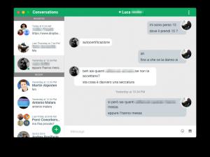 YakYak – a Google Hangouts dektop kliens