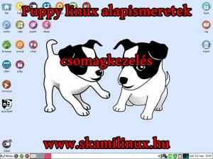 Puppy linux alapismeretek | csomagkezelés – videó