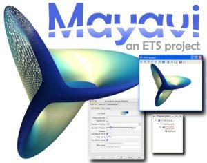 Mayavi – interaktív 3D -s tudományos adatmodellező és rajzgép Pythonban