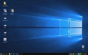 XenialPup64 R5 XFCE csinosítgatás videó – Windows 10 téma