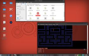 MiniPacman – ascii játék a parancssorban !