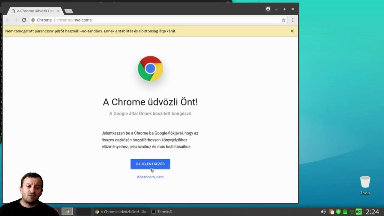 Chrome 65 telepítés XenialPuppy64 alatt