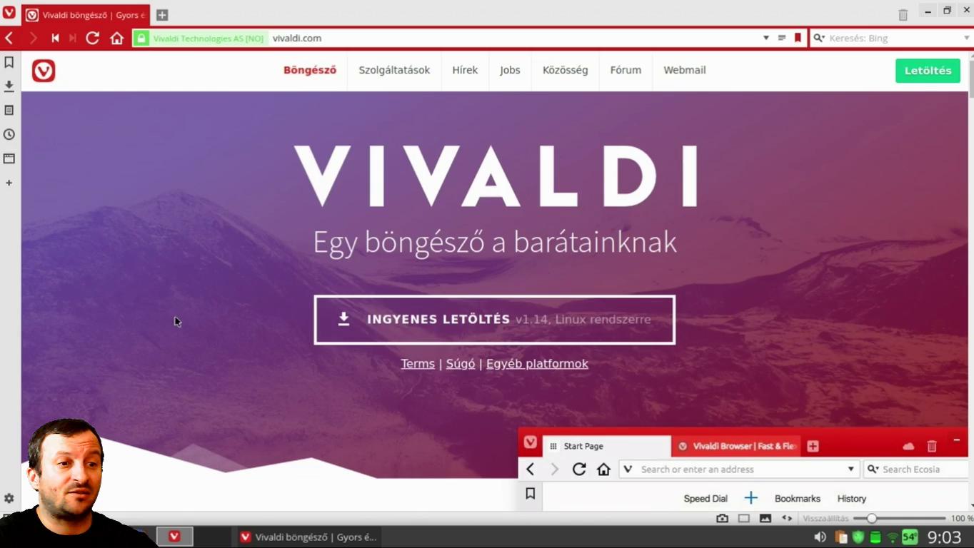 Vivaldi webböngésző 1.14