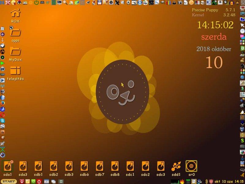 Precise5.7.1Retro MegaPuppy 7-ik Hun/Eng kiadás '18 okt