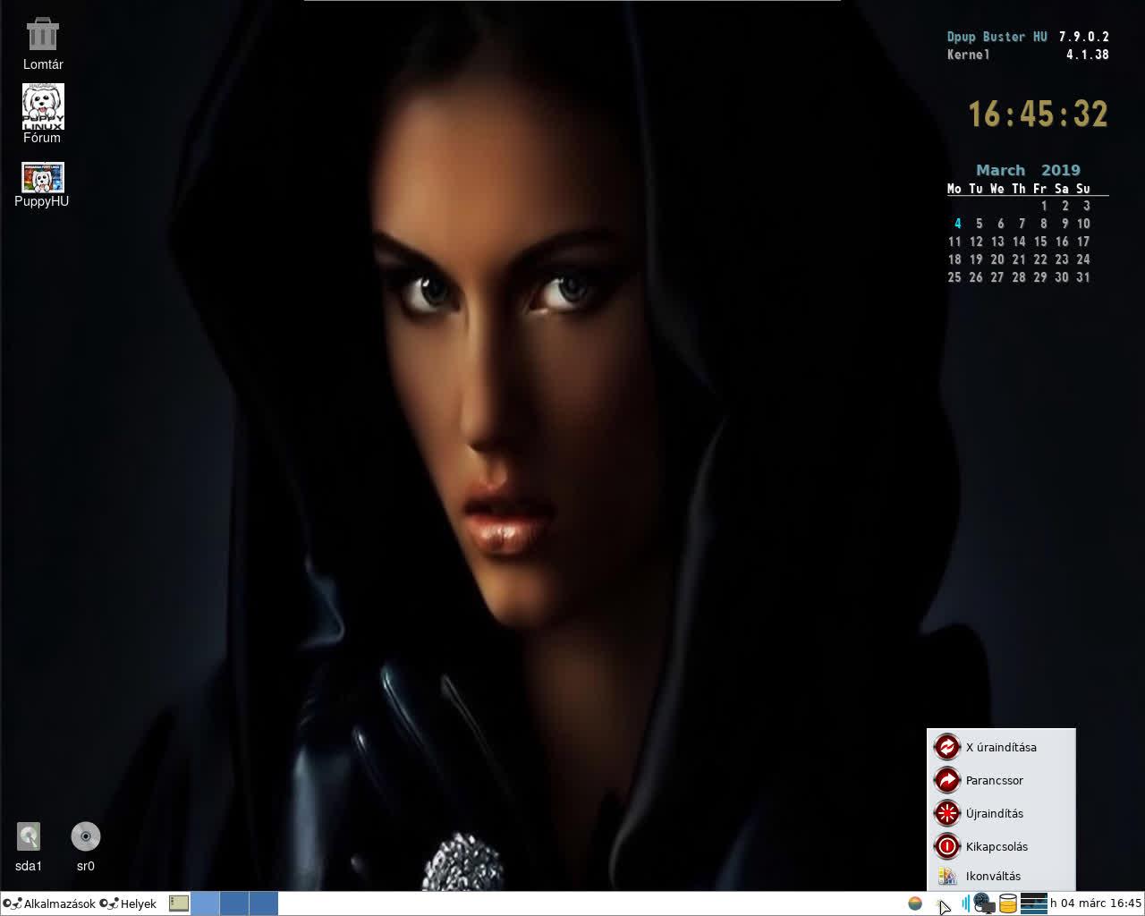 Dpup Buster 7.9.0.2 HU K4.19.20 PAE T2 – videó
