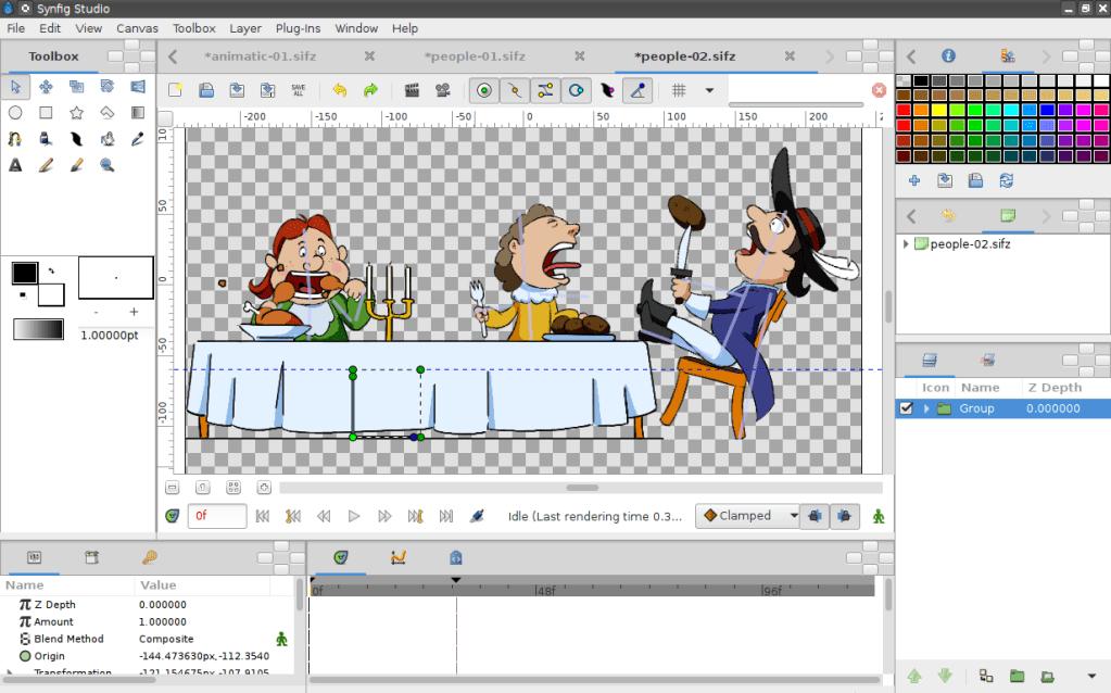 Synfig Studio – 2D animáció készítő szoftver