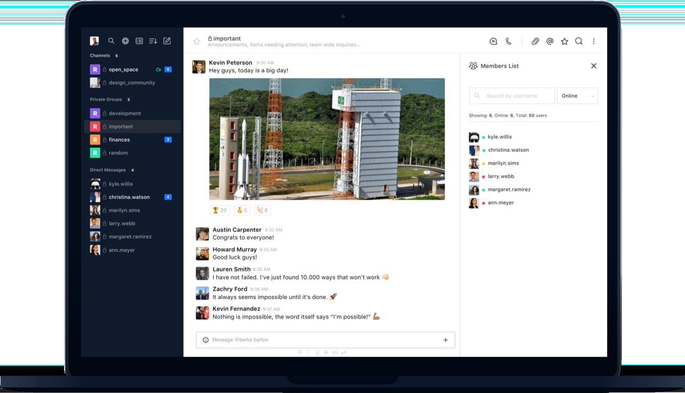 Rocket Chat – közösségi kommunikációs platform